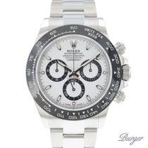 Rolex Daytona Acier 40mm Blanc