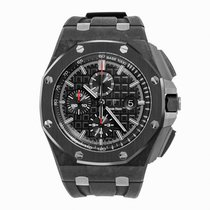 Audemars Piguet Royal Oak Offshore Chronograph pre-owned 44mm Black Chronograph Date Tachymeter Rubber