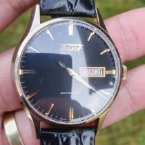 Tissot Heritage Visodate pre-owned 40mm Date Weekday Leather