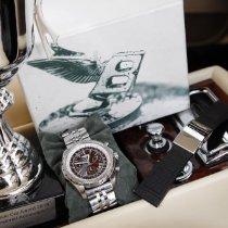 Breitling Bentley Motors Stahl 48mm Braun Keine Ziffern