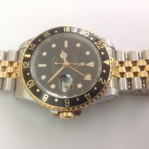Rolex GMT gold and steel ref.16713