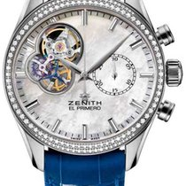 Zenith El Primero Chronomaster Lady Steel 38mm Mother of pearl United States of America, New York, Airmont