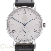 NOMOS Ludwig pre-owned 35mm Silver Leather