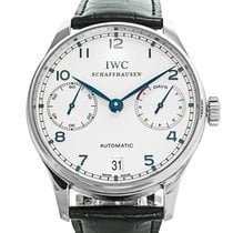 IWC IW500107 Steel Portuguese Automatic 42mm pre-owned United States of America, New York, Greenvale