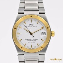 IWC Ingenieur Automatic Steel/Gold White Dial Full Set
