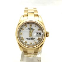 Rolex Yellow gold Automatic pre-owned Datejust