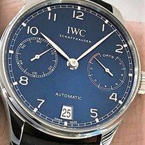 IWC Portugieser Automatik neu 2019 Automatik Uhr mit Original-Box und Original-Papieren IW500710