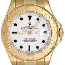 Rolex Yacht - Master Midsize Men's/Ladies 18k Gold Watch 168628