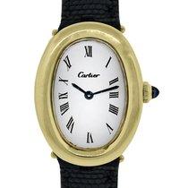 Cartier Baignoire 23mm Blanco Romanos