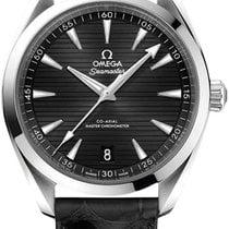 Omega Seamaster Aqua Terra nuevo 2020 Automático Reloj con estuche y documentos originales 220.13.41.21.01.001