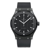 Hublot Classic Fusion 45, 42, 38, 33 mm Ceramic 45mm Black No numerals United States of America, New York, NYC