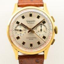 Chronographe Suisse Cie Gelbgold 39mm Handaufzug gebraucht