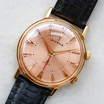 Juvenia Red gold 34mm Manual winding