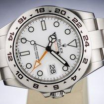 Rolex OYSTER PERPETUAL EXPLORER II CHRONOMETER POLAR WHITE DIAL