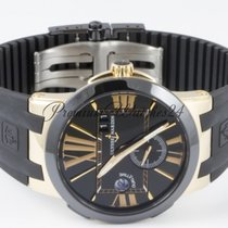 Ulysse Nardin Executive Dual Time 43mm Mens Red Gold and...