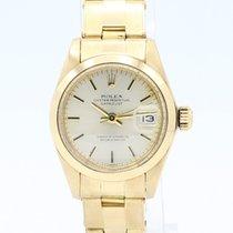 Rolex Oro amarillo Automático Oro Sin cifras 26mm usados Oyster Perpetual Lady Date