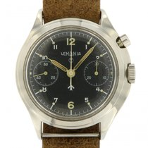 Lemania | Lemania Military, Chronograph monopusher from 1969...