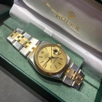 Rolex Datejust Gold/Steel 36mm Champagne No numerals United States of America, California, SAN DIEGO