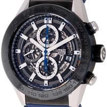 TAG Heuer : Carrera Chronograph Calibre Heuer 01 :  CAR2A1T.FT...