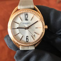 Chaumet Chronometer 33mm Automatik neu Liens Silber