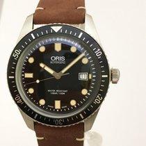 Oris Divers Sixty Five Steel 42mm Black No numerals