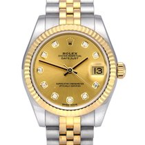 Rolex Lady-Datejust Gold/Steel 31mm Champagne No numerals United Kingdom, Manchester