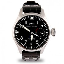 IWC 46mm Automatic 2012 pre-owned Big Pilot Black