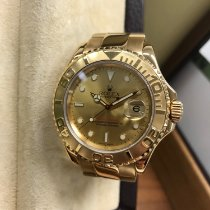 Rolex Yellow gold Automatic Gold 40mm pre-owned Yacht-Master 40