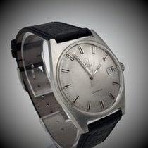 Omega Genève Stahl 34,2mm Silber