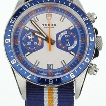 Tudor Heritage Chrono Blue Steel 42mm Blue United States of America, Illinois, BUFFALO GROVE