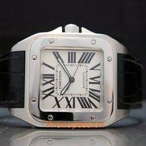 Cartier Santos 100 Steel 41.3mm White Roman numerals United States of America, Florida, Boca Raton