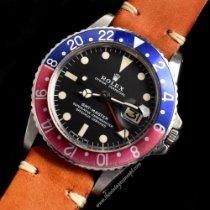 Rolex 1675 Ατσάλι 1972 GMT-Master μεταχειρισμένο