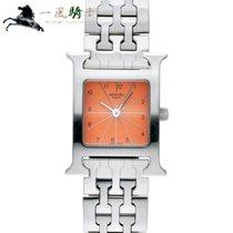 Hermès Çelik 30mm Quartz HH1.210 ikinci el