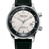 Alpina Seastrong Acero 42mm Plata