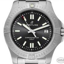 Breitling Chronomat Colt neu Automatik Uhr mit Original-Box und Original-Papieren A17313101F1A1