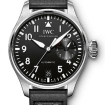 IWC Big Pilot Steel 46.2mm Black United States of America, California, Los Angeles