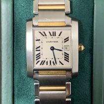 Cartier Ouro/Aço 25mm Quartzo 2465 usado