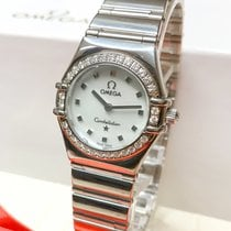 Omega Constellation Quartz Steel 22.5mm Mother of pearl