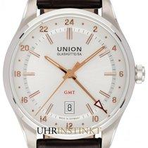 Union Glashütte Belisar GMT Steel 41mm Silver
