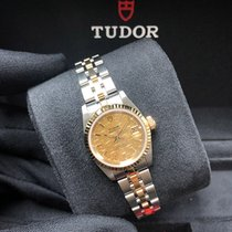 Tudor Prince Date M92413-0003 New Gold/Steel 25mm Automatic