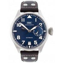 IWC Big Pilot Acero 46mm Azul