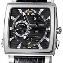 Ulysse Nardin Quadrato Dual Time Perpetual 320-90/69 2006 pre-owned