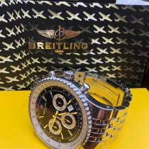 Breitling Montbrillant Steel 47mm Black