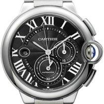 Cartier Ballon Bleu 44mm Steel 44mm Black Roman numerals United States of America, California, Moorpark