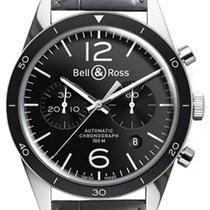 Bell & Ross BR V1 Сталь 43mm Черный Aрабские