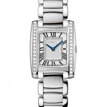 Ebel Brasilia 1216068 EBEL STEEL SILVER DIAL DIAMONDS BLUE new