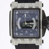 Zeno-Watch Basel Mistery Rectangular Steel NEW