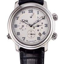 Blancpain «Leman Reveil GMT Dual Time» Alarm 2041-1542M-53B
