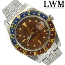 Rolex GMT Master 6542 OCC glossy brown gilt dial very rare 1956's