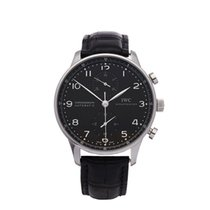 IWC Portuguese Chronograph Stainless Steel Gents IW371438 - W4296